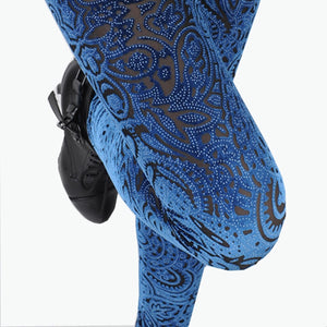 Velvet Lace Leggings for Women