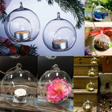 Transparent Glass Fishbowl Design Vase