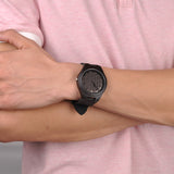 You Won't Have to Face All Your Problems Alone for Boyfriend Black Wooden Watch