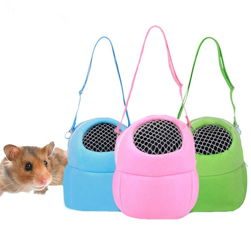 Guinea Pig Hamster Fleece Carrier Bag S/M/L