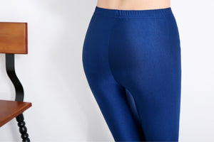 Shiny Spandex Leggings for Women