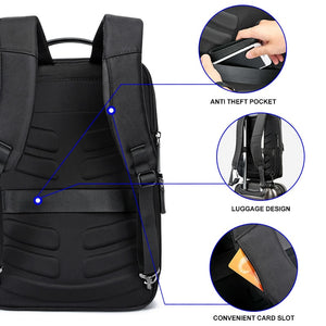 Anti-theft Waterproof Laptop Travel Backpack