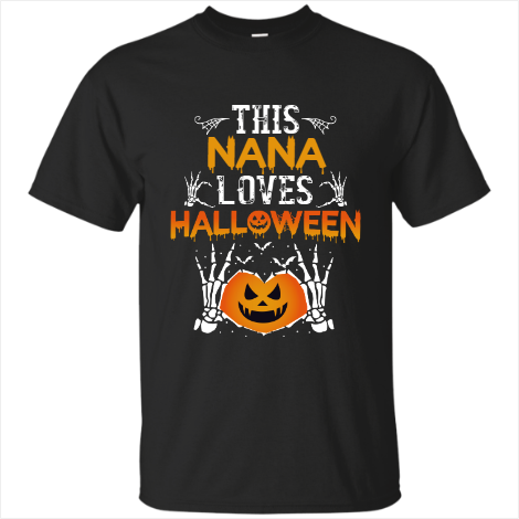 This Nana Loves Halloween T-Shirt