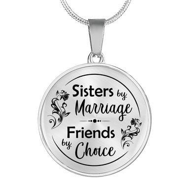 Sisters by Marriage for Sister-in-Law Necklace