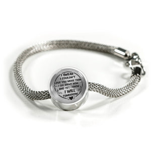 Love You More Than I Do Right Now for Girlfriend Bracelet