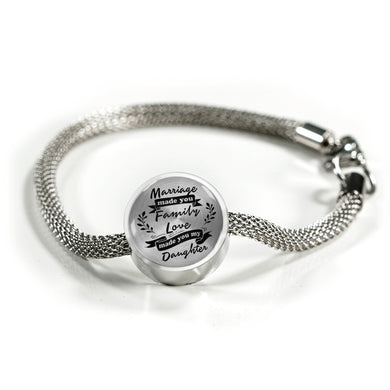 Marriage Made You My Daughter for Daughter-in-Law Bracelet