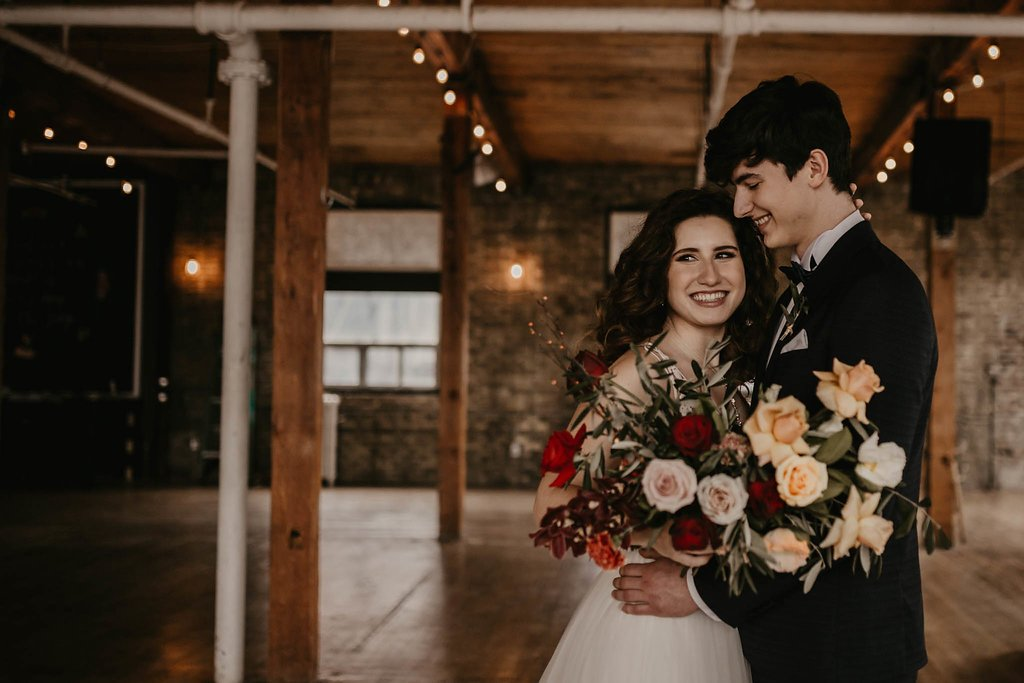 Wedding Shoot at The Jam Factory