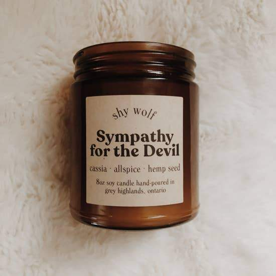 Sympathy for the Devil - Rock & Roll Soy Candle