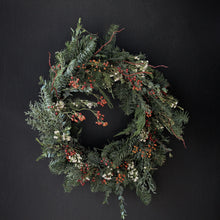 Load image into Gallery viewer, Mixed Greens Wreath
