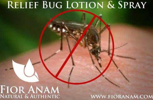"""Relief"" Bug Spray & Lotion"