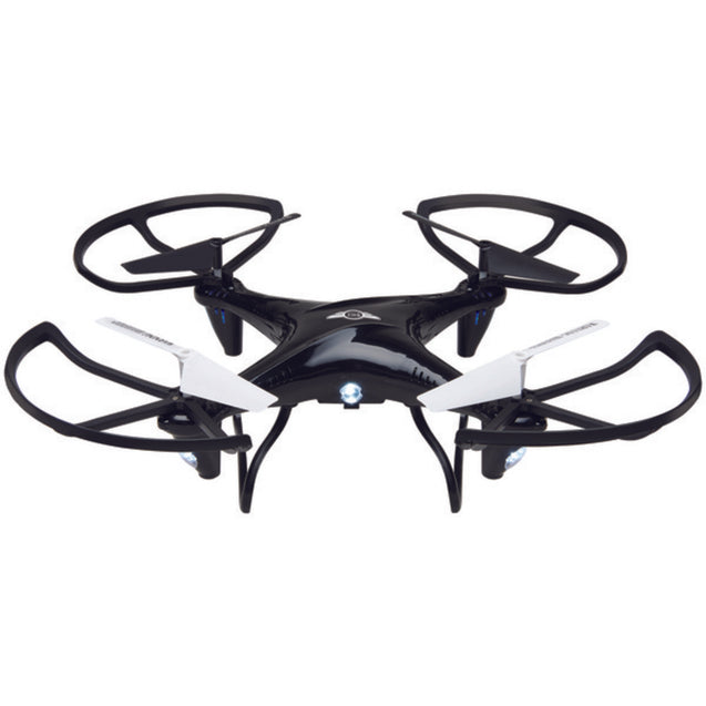 SkyRider(TM) DRC377B Falcon 2 Pro Quadcopter Drone with Video Camera (