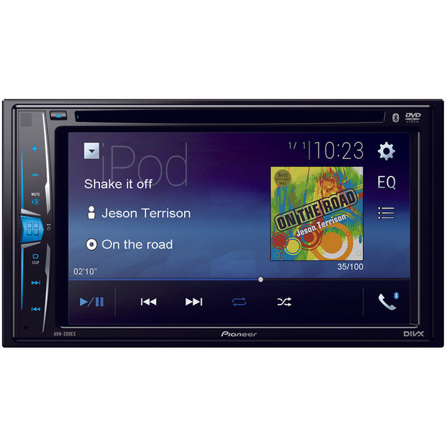 "Pioneer 6.2"" Double-din In-dash Dvd Receiver With Wvga Clear-"