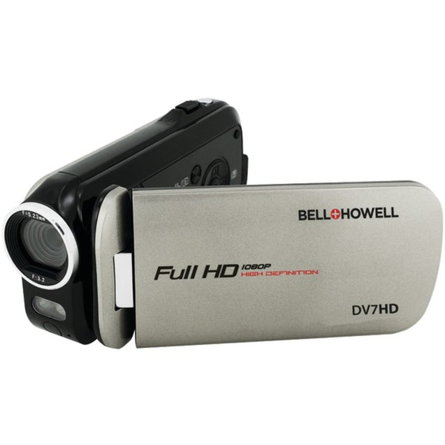 Bell+Howell(R) DV7HD-GY 16.0-Megapixel Slice II DV7HD Ultraslim 1080p