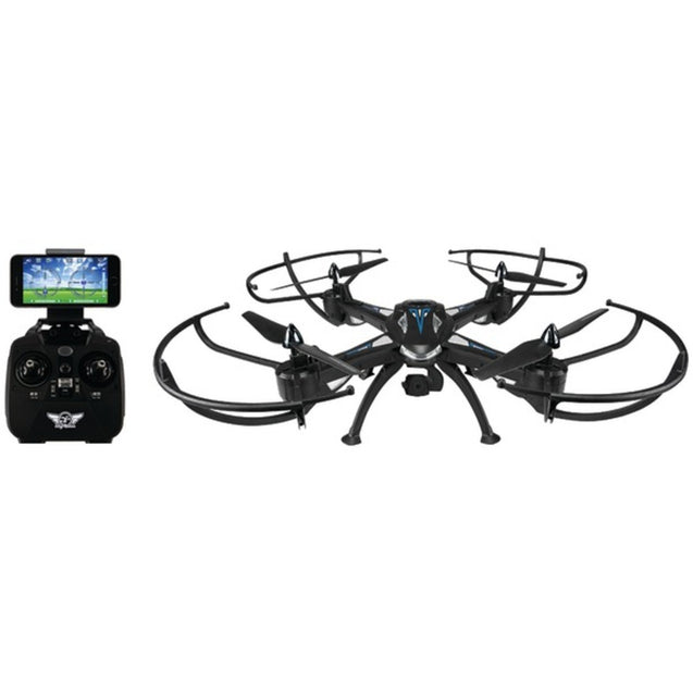 SkyRider(TM) DRW876 Condor Pro Drone with Wi-Fi(R) Camera