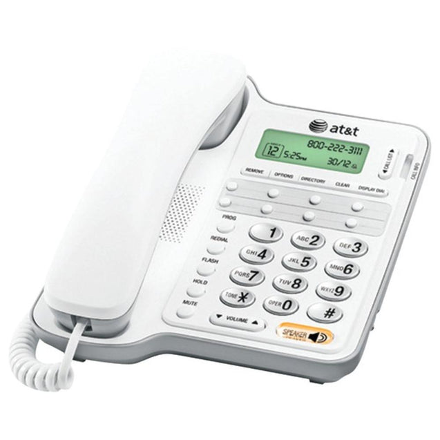 AT&T(R) ATCL2909 Corded Speakerphone