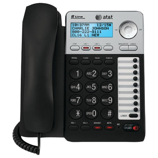 AT&T(R) ATML17929 2-Line Speakerphone
