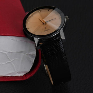 Wrist Watch Men 2017 Luxury Faux Leather Male Clock Quartz Watch Simple Desgin Quartz-watch Relogio Masculino