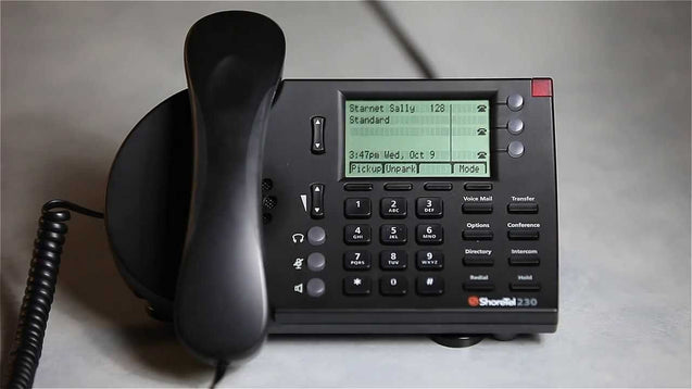 ShoreTel IP Phone 230G Black