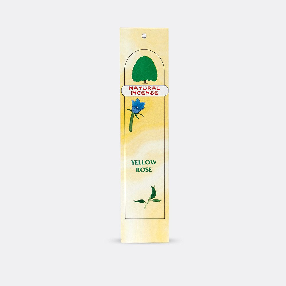 Natural Incense Yellow Rose
