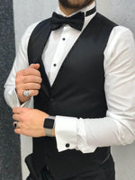 TROPEZ WHITE VELVET COLLAR TUXEDO - Hollo Men