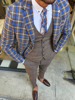 HOUSTON CAMEL SUIT - Hollo Men
