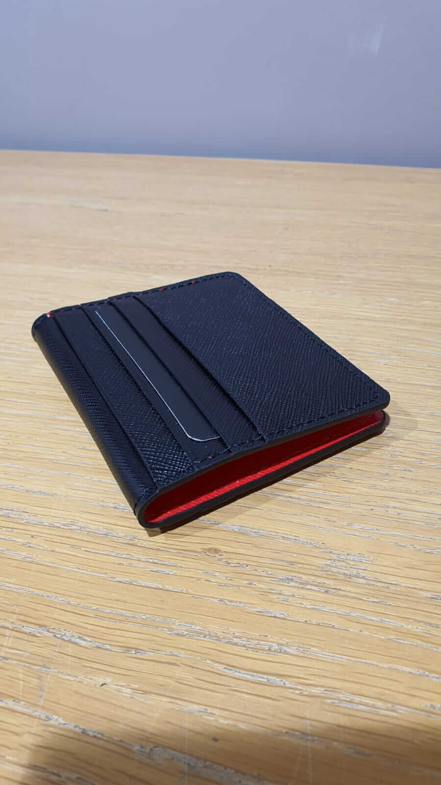 BLACK & RED WALLET - Hollo Men