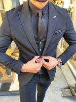 HERITAGE BLACK SUIT - Hollo Men