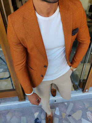 EIFFEL CAMEL JACKET - Hollo Men