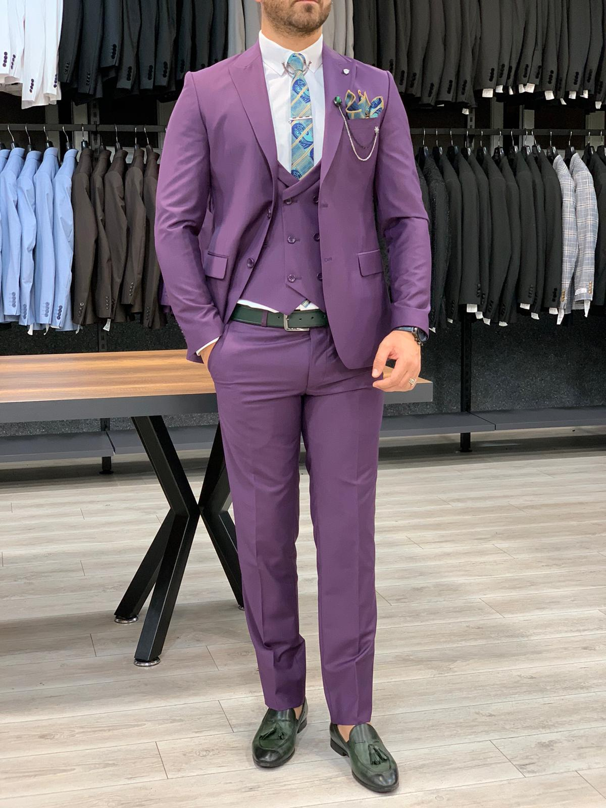 HolloMen OAKLAND PURPLE SUIT - Hollo Men