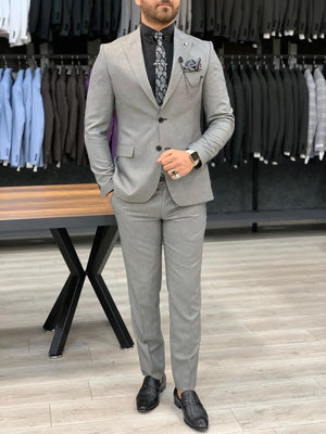 HolloMen OAKLAND GREY SUIT - Hollo Men