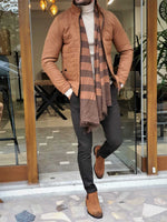 HolloMen CAMEL WOOL COAT - Hollo Men