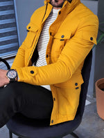 HolloMen HENNING YELLOW COAT - Hollo Men