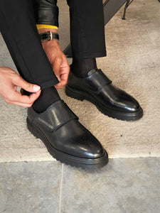 HolloMen NOEL BLACK SHOE - Hollo Men