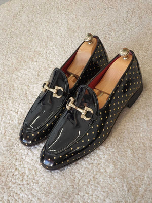 Neolite Black & Gold Loafer - Hollo Men