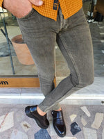Black & Brown Jeans - Hollo Men