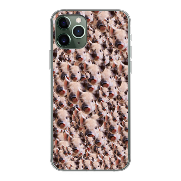 Your Face Custom Soft Phone Case