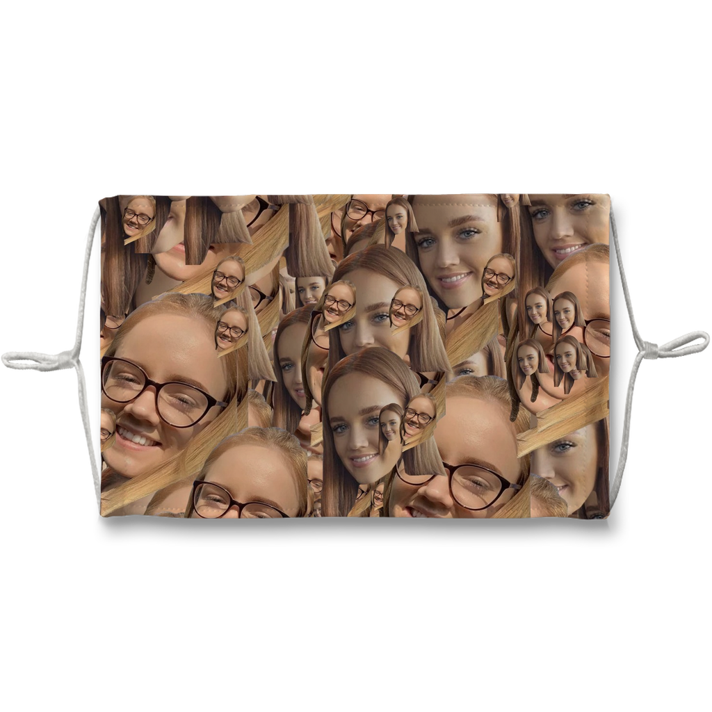 2302 - 4 Sublimation Face Mask