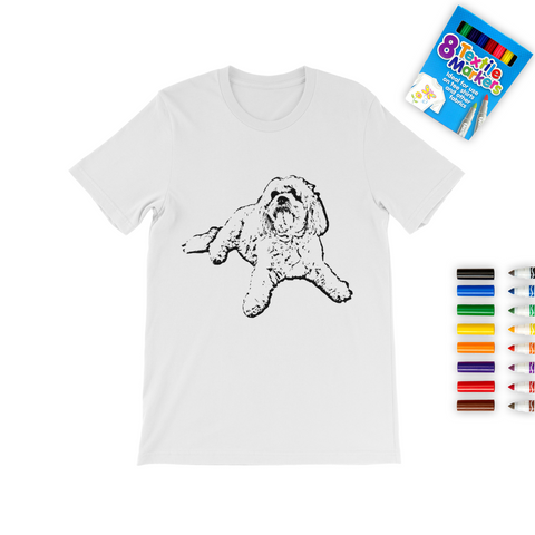 Your Custom Colouring Kids T-Shirt
