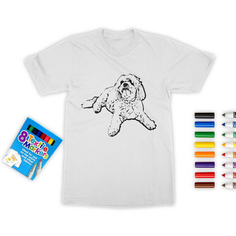 Your Custom Colouring Unisex Adult T-Shirt