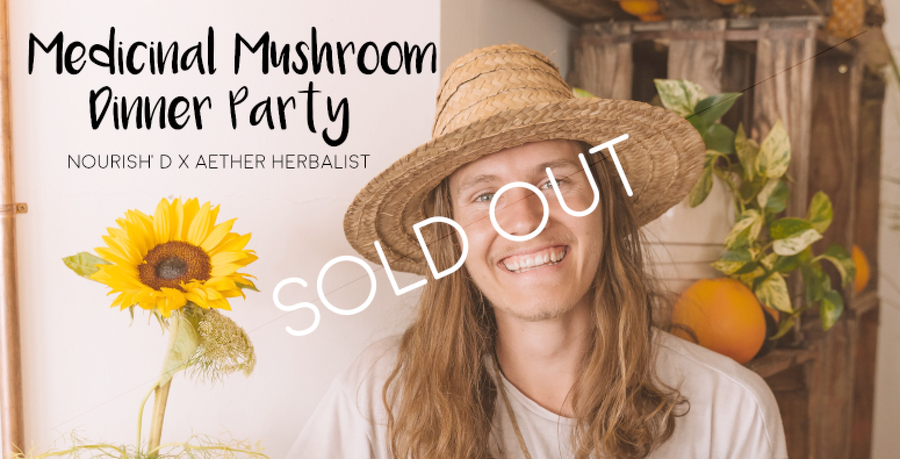 19 November 2020: Medicinal Mushroom Dinner Party