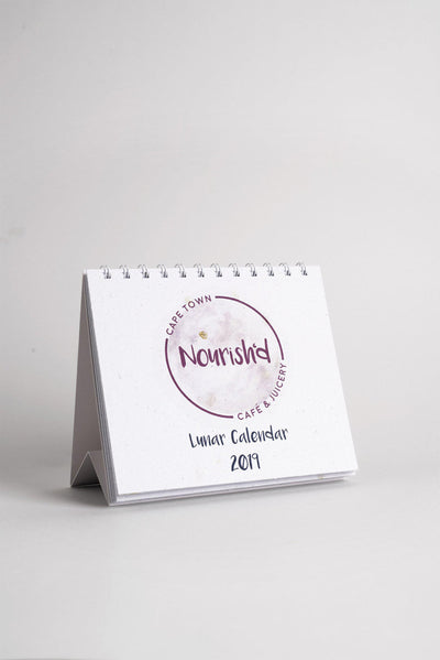 2019 Luna Calendar on Recycled Seed Paper