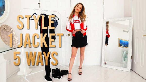 HOW TO STYLE 1 JACKET 5 WAYS