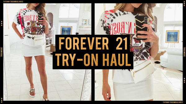 Forever 21 SPRING TRY ON HAUL | ALL WHITE OUTFITS
