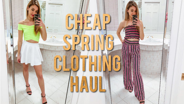 SUPER CHEAP SPRING CLOTHING TRY-ON HAUL!