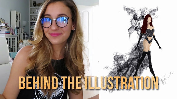 How to Draw a Digital Fashion Illustration | VLOG 1
