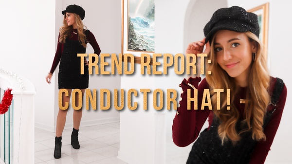 Trend Report: CONDUCTOR HAT | Kendall Jenner, Bella Hadid & more!