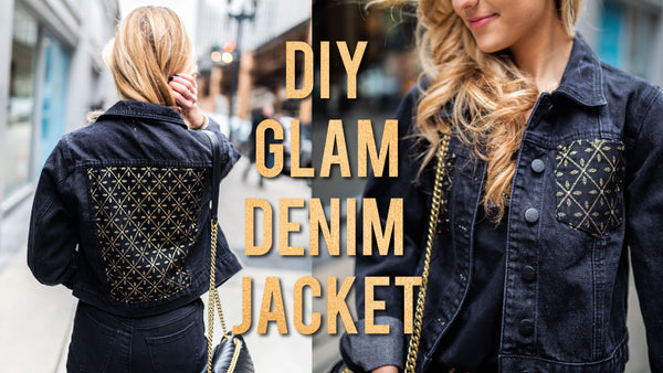 DIY GLAM DENIM JACKET