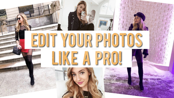 EDIT YOUR INSTAGRAM PHOTOS LIKE A PRO | SELFIES & OOTDS
