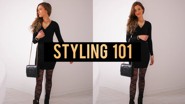 How To Make a $12 Dress Look HIGH FASHION! | Styling 101