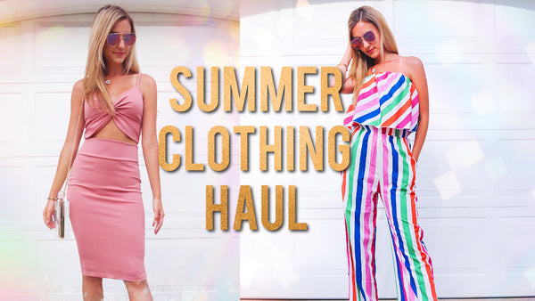 HUGE Summer Clothing Haul! *Cheap Shopping Hacks* from Express and Discovery
